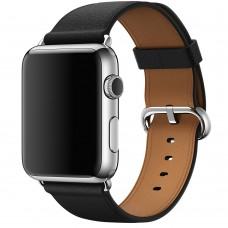 Ремешок Apple watch 42/44mm Classic Buckle Leather black