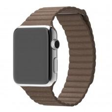 Ремешок для Apple Watch Leather loop 38/42мм Коричневый