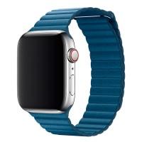 Ремешок для Apple Watch Leather loop 38/42мм Синий
