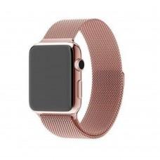 Ремешок для Apple Watch Milanese loop 38/42мм Pink Sand