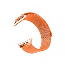 Ремешок для Apple Watch Milanese loop 38/42мм Papaya