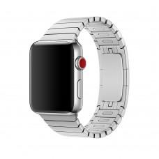 Ремешок Apple watch 42/44mm Link Bracelet Silver (копия)