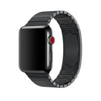 Ремешок Apple watch 42/44mm Link Bracelet Black (копия)