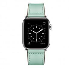 Кожаный ремешок для Apple Watch 42/44mm Rivet Clasp Mint
