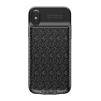 Защитный чехол для iPhone X/Xs Baseus Plaid Backpack Power Bank Case 3500 mAh.