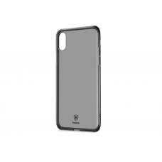 Черно-прозрачный чехол Baseus Simplicity Series Case для iPhone X/Xs
