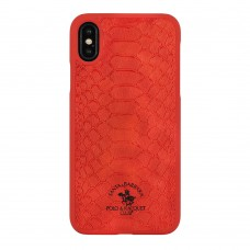 Чехол для iPhone X/Xs Polo Knight Case Red