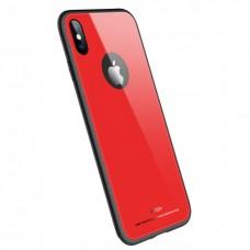 Чехол для iPhone X/Xs Rock Brilliant Series Red