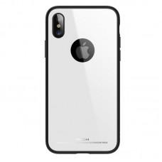 Чехол для iPhone X/Xs Rock Brilliant Series White