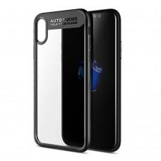 Чехол для iPhone X/Xs Rock Clarity Series Black