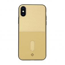 Чехол для iPhone X/Xs Totu Jazz Series Gold