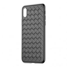 Чехол для iPhone X / Xs Baseus BV Weaving черный