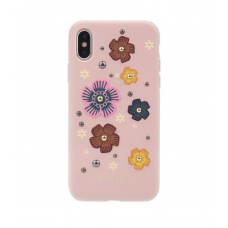 Чехол для iPhone X/XS California Janesper Case Pink