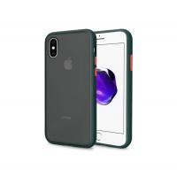 Чехол Сucoloris для iPhone X/Xs Black Red