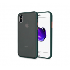 Чехол Сucoloris для iPhone X/Xs Black Red