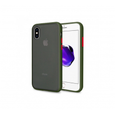 Чехол Сucoloris для iPhone X/Xs Green Red