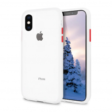 Чехол Сucoloris для iPhone X/Xs Transpared Red