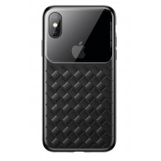 Чехол для iPhone X/Xs Baseus Weaving Case Black