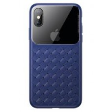 Чехол для iPhone X/Xs Baseus Weaving Case Blue