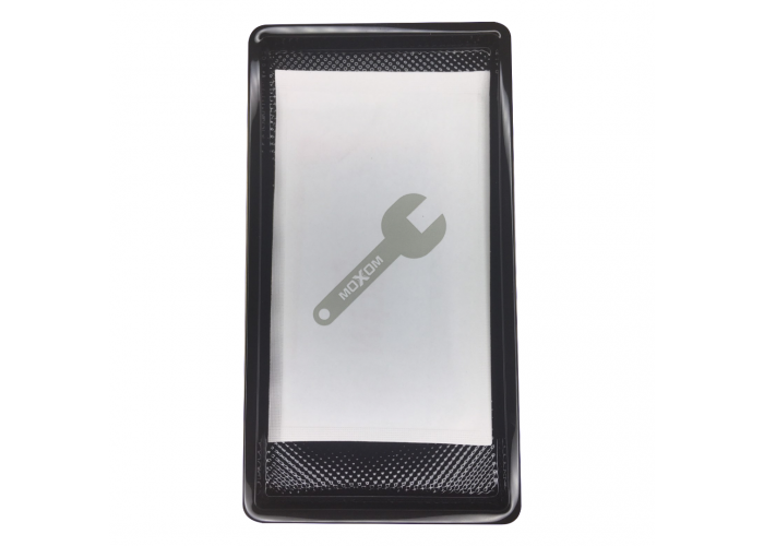 Защитное 3D стекло Moxom для iPhone Xs Max/11pro Max прозрачное с черными рамками