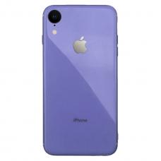 Silicone Logo Case для iPhone Xr Violet