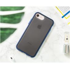 Чехол Сucoloris для iPhone 7/8 Синий с синими кнопками