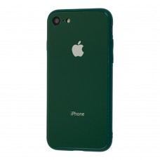 Чехол для iPhone 7/8 Glass Pastel Color Logo Virid