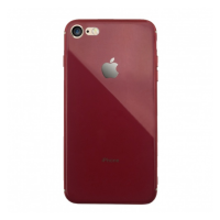 Silicone Logo Case для iPhone 7/8 Red