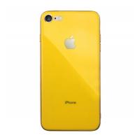 Silicone Logo Case для iPhone 7/8 Yellow