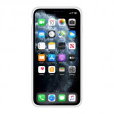 Силиконовый чехол Apple Silicone Case White для iPhone X/Xs с закрытым низом