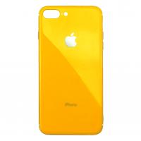 Чехол Silicone Logo Case для iPhone 7 Plus /8 Plus Yellow