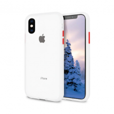 Чехол Сucoloris для iPhone Xs Max Transpared Red