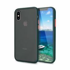 Чехол Сucoloris для iPhone Xs Max Black Red