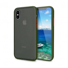 Чехол Сucoloris для iPhone Xs Max Green Red