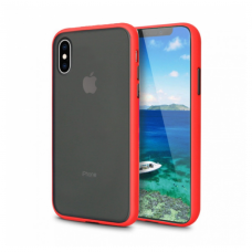 Чехол Сucoloris для iPhone Xs Max Red Black