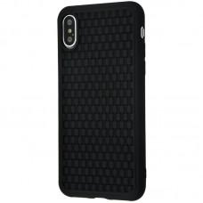 Чехол для iPhone Xs Max Baseus BV Weaving черный