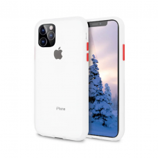 Чехол Сucoloris для iPhone 11 Pro Transparent Red
