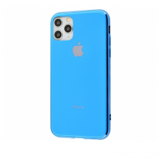 Чехол Silicone Logo Case для iPhone 11 Pro Max Blue