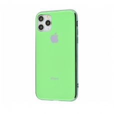 Чехол Silicone Logo Case для iPhone 11 Pro Max Mint Gum