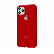 Чехол Silicone Logo Case для iPhone 11 Pro Max Red