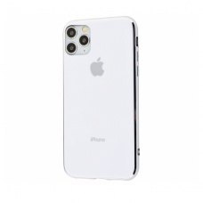 Чехол Silicone Logo Case для iPhone 11 Pro Max White