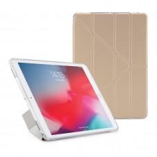 "Чехол Origami Case iPad 10.2"" Leather embossing Gold"