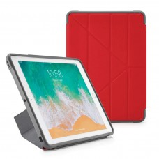 "Чехол Origami Case iPad 10.2"" Leather embossing Red"