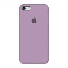 Силиконовый чехол c закрытым низом Apple Silicone Case Amethyst для iPhone 6/6s