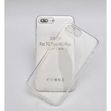 Силиконовый чехол Silicone Clear Case для iPhone 7 Plus / 8 Plus