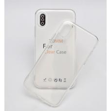 Силиконовый чехол Silicone Clear Case для iPhone Xs Max