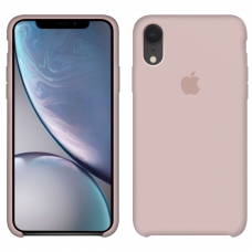 Силиконовый чехол Apple Silicone Case Pink Sand для iPhone Xr