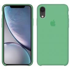 Силиконовый чехол Apple Silicone Case Spearmint для iPhone Xr
