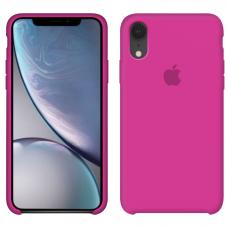 Силиконовый чехол Apple Silicone Case Dragon Fruit для iPhone Xr