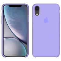Силиконовый чехол Apple Silicone Case Violet для iPhone Xr
